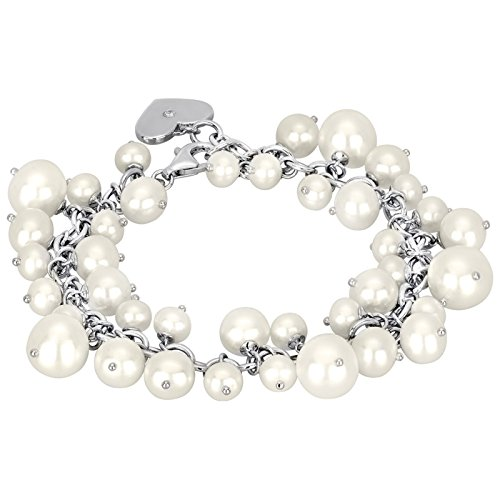 Mabina gioielli argent bracelet avec perles 533133 20 cm