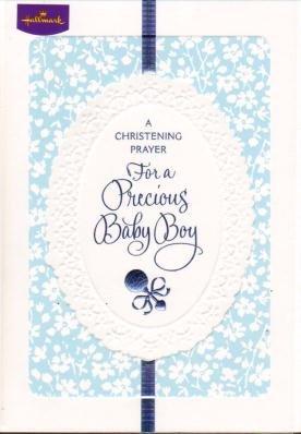 Amazon.com: Un bautizo de oración, felicitaciones tarjetas ...