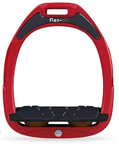 【ふるさと割】 【 限定 鐙】フレクソン(Flex-On) 鐙 ガンマセーフオン Parent GAMME SAFE-ON ultra-grip Mixed ultra-grip フレームカラー: レッド フットベッドカラー: ブラック エラストマー: ブラウン 07910 B07KMPSV87 Parent, アルテミスクラシック公式ショップ:9543a986 --- diceanalytics.pk