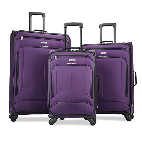 Purple Luggage Sets - 7