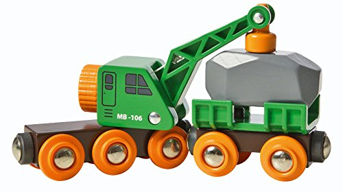 Brio - 33698 - Circuit - Wagon grue ingénieux