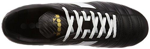 Indoor Diadora Multicolore nero oro Mdpu C2351 Da Baggio bianco 03 Uomo Lt Calcetto Scarpe wBr0xBqaz