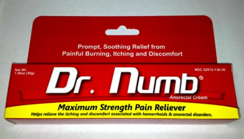 Galleon 1 Tube Of Dr Numb Maximum Topical Anesthetic Anorectal