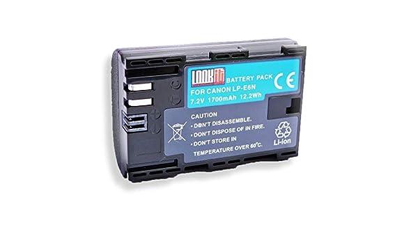 2 x LOOKit battery pack LP-E6 N - + LOOKit Dual Cargador - Para ...