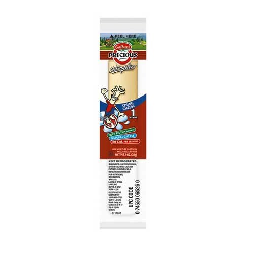 Galbani Low Moisture Part Skim Mozzarella String Cheese, 1 Ounce -- 200 per (Mozzarella String Cheese)
