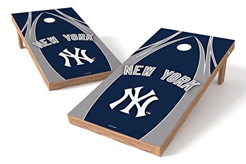 Yankees York Tailgate New - Wild Sports MLB New York Yankees V Design Tailgate Toss XL with Shield, Multi, 48