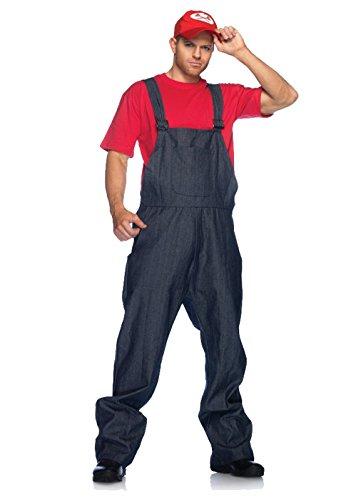 Leg Avenue Men's Super Plumber Costume ()