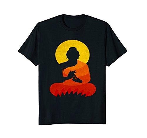 Mens Buddha - YingYang Zen Yoga T-shirts 2XL Black by Buddha Best Quotes T Shirt