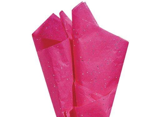 Hot Pink Gemstone Tissue Paper 20