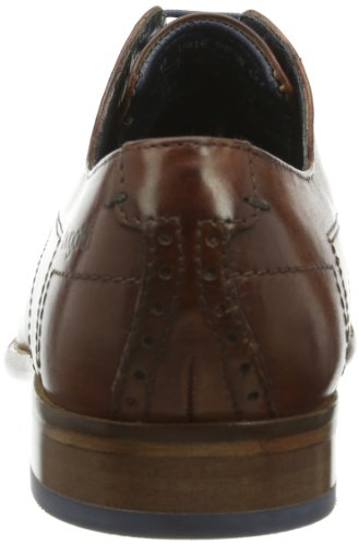 Bugatti U8107Pr1W - Zapatos de cordones para hombre, color Cognac 644