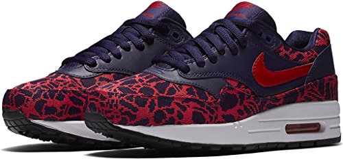 Nike AIR MAX 1 JCRD womens running-shoes 819808-400_11 - LOYAL BLUE/WHITE/BLACK/UNIVERSITY RED