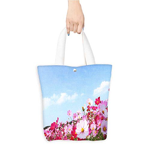 Large Tote Bag Ge Sanghua and the blue sky Shopping,School and Office use W11 x H11 x D3 INCH