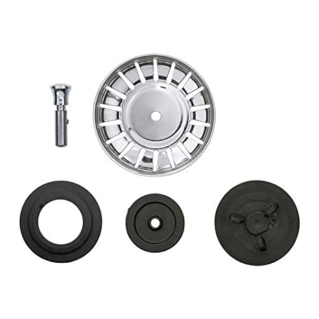 IKEA ATLANT - Tappo per lavello con filtro, acciaio inossidabile ...