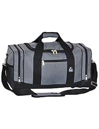 Everest 020-DGRY/BK Sporty Gear Bag, Dark Gray, One Size