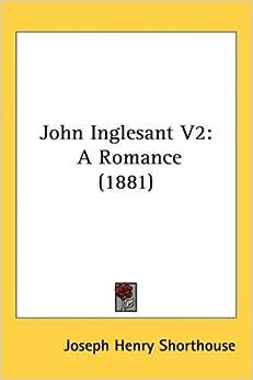 Book John Inglesant V2: A Romance (1881)