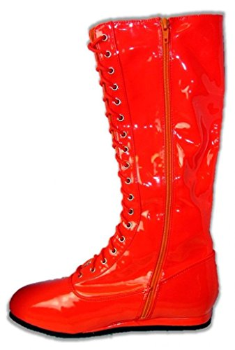 Pro Wrestling Costume Boots (Small, Red) for sale  Delivered anywhere in USA