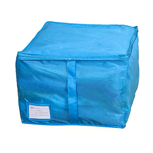 HHmei Small Size Clothing Storage Boxes Quilts Sorting Pouch Underwear Socks Organizer - Quilt Packaging Pouch, Event-guestbooks Outdoor Blue Silver Table Gold Set Lights Indoors chr