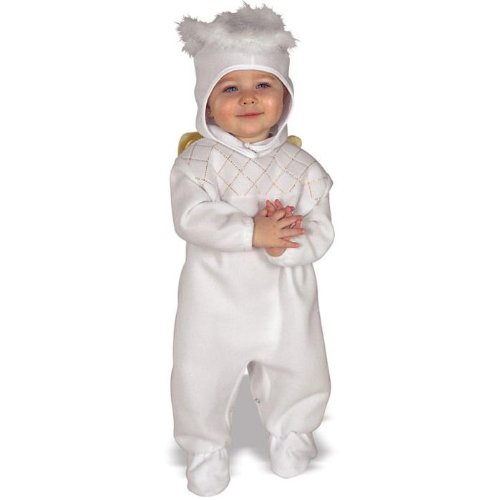 Heavenly Angel EZ Romper Costume: Baby's Size 6-12 (Heavenly Baby And Toddler Angel Costumes)