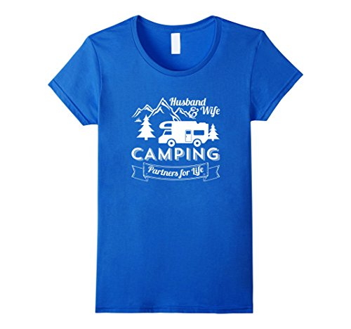 Women's Husband And Wife Camping Partners For Life Couple...