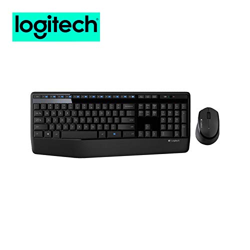 Logitech MK345 Wireless Mouse and Keyboard Combo for Computers Laptops Bundle (1-Pack)