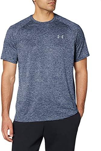 Under Armour Men's Tech 2.0 Short-Sleeve T-Shirt , Academy Blue (409)/Steel, Large