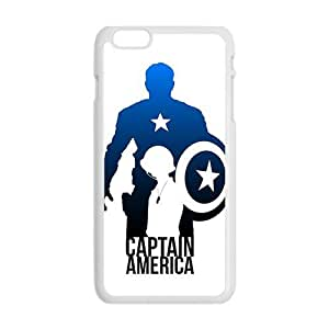 Brave Captain America Cell Phone Case for Iphone 6 Plus