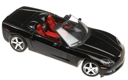 2005 Chevrolet Corvette C6 Convt Black Diecast 1:24 (C6 Diecast Car Model)