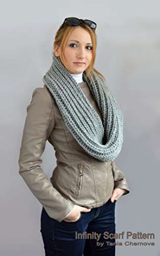 Infinity Scarf Pattern Scarf Knitting Pattern Easy Knit Scarf