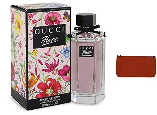 Guccí Flöra Gorgëous Gärdenia Pèrfume For Women 3.3 oz Eau De Toilette Spray + Free Hand Bag