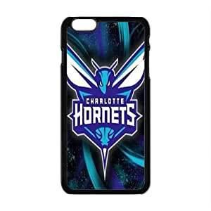 Charlotte Hornets NBA Black Phone Case for iPhone plus 6 Case