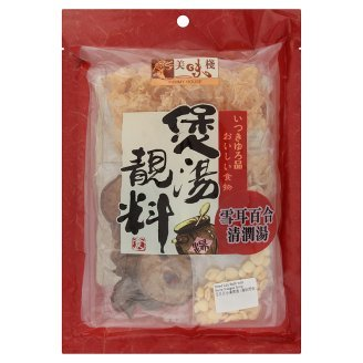 Yummy House Dried Lily Bulb with Snow Fungus Soup 115g (628MART) (1 Pack)