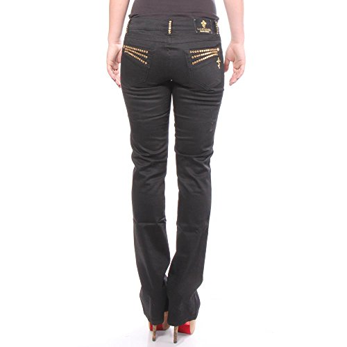 Saint Marc Black Silk Gold Stone - Jeans - 26/32 Mujeres