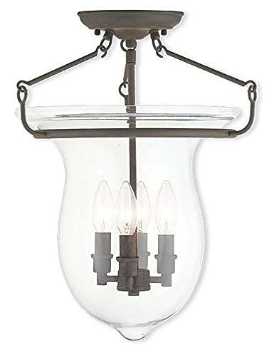 Amazon.com: Canterbury 4-Light Ceiling Mount, 50297-07, 60 ...