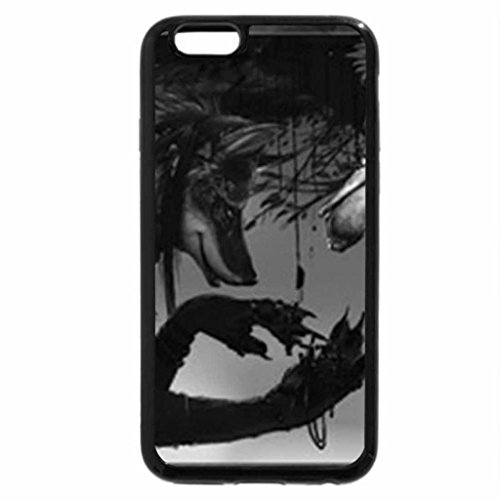 """iPhone 6S Plus Case, iPhone 6 Plus Case (Black & White) - ...""""why are you right side up"""""""