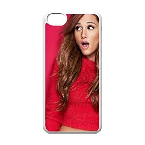 C-EUR Print Ariana Grande Pattern Hard Case for iPhone 5C