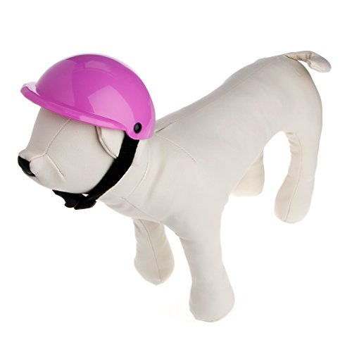 SYlive Dog Hat Large, ABS Plastic Helmets Sports Hat For Dog (L, purple) by SYlive