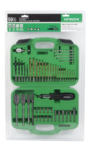 Hitachi 799961 Drill And Drive Bit Set