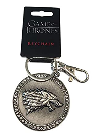 Amazon.com: Juego de llaveros de juego de tronos – Stark ...