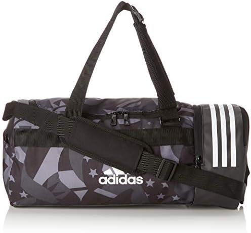 adidas CORE 3 Stripes CVRT Graphic Sporttasche mit Rucksackfunktion S 48 cm