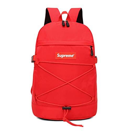 Supreme Backpack, Supreme Bag, 18SS (red)