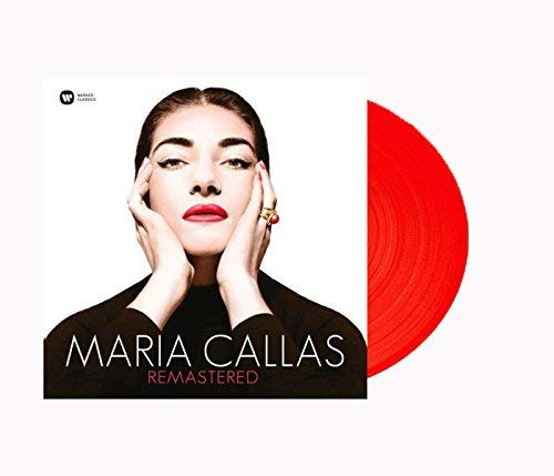 Maria Callas Remastered Exclusive Red Vinyl w/ 7'' Single by Warner Classics