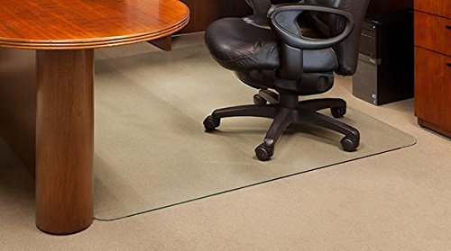 Vitrazza Glass Office Chair Mat 46