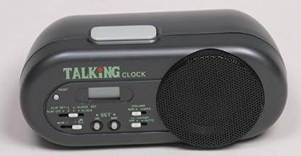 Buy Talking Alarm Clock, Voice Announcement, Easy to Locate