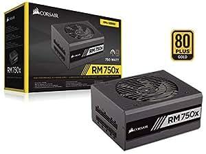 CORSAIR RMX Series. RM750x 80 Plus Gold Fully Modular ATX Power Supply