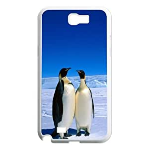 Samsung Galaxy Note 2 N7100 Penguin Phone Back Case Custom Art Print Design Hard Shell Protection YT112133