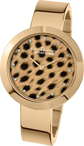 Jacques Lemans La Passion LP-113J Wristwatch for women Leopard look