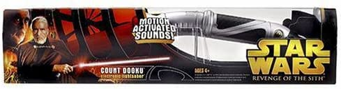 B0007VZVV0 Hasbro Star Wars Episode 3 Electronic Lightsaber Count Dooku 419JN52DCTL.