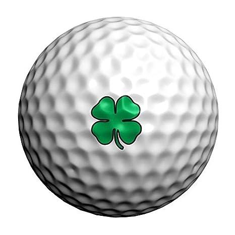 32 Trébol de la suerte Golfdotz transferencias de pelota de golf ...