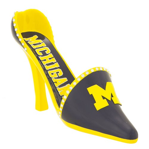 Michigan Wolverines Decorative Wine Bottle Holder - - In Michigan Outlet Malls Usa