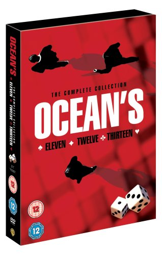 Ocean's Eleven, Twelve and Thirteen (Incl. Master of The Heist 45 Min Documentary) (4 Disc) [Import anglais]